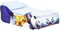 Стилизованная кровать детская Бельмарко Бегемот Мотя / 551 -