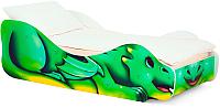 Стилизованная кровать детская Бельмарко Дракон Задира / 552 -