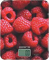 Кухонные весы Polaris PKS 0832DG (малина) -