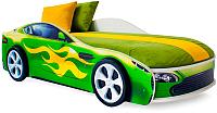 Стилизованная кровать детская Бельмарко Бондмобиль / 559 (зеленый) -