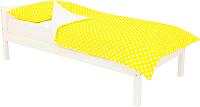 Односпальная кровать Бельмарко Skogen classic / 575 (белый) -