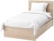 Односпальная кровать Ikea Мальм 692.109.15 -