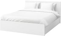 Двуспальная кровать Ikea Мальм 692.110.19 -