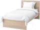 Односпальная кровать Ikea Мальм 692.278.88 -
