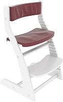 Комплект подушек на стул Бельмарко 140 (бордовый) -