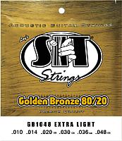 Струны для акустической гитары SIT Strings GB1048 -