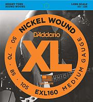 Струны для бас-гитары D'Addario EXL160 50-105 -