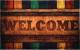 Коврик грязезащитный VORTEX Samba Welcome 50x80 / 24154 -