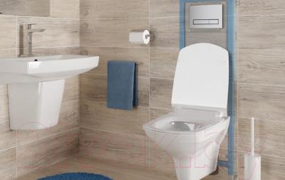 Унитаз подвесной с инсталляцией Cersanit City New Clean On + Link Pro (S-SET-CITYC/LPRO/S-DL/In-Wg-w)