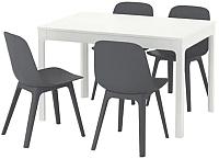 Обеденная группа Ikea Экедален/Одгер 192.213.46 -