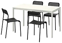 Обеденная группа Ikea Мельторп/Адде 192.299.22 -