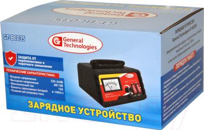 Зарядное устройство для аккумулятора General Technologies GT-BC035 / 036432