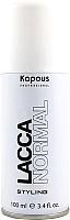 Лак для укладки волос Kapous Lacca Normal Styling нормальной фиксации / 83 (100мл) -