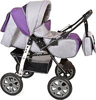 Детская универсальная коляска Smile Line Alf I (Al 04, серый/фиолетовый) -