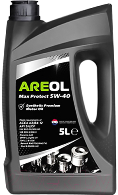 Моторное масло Areol Max Protect 5W40 / 5W40AR009 (5л)