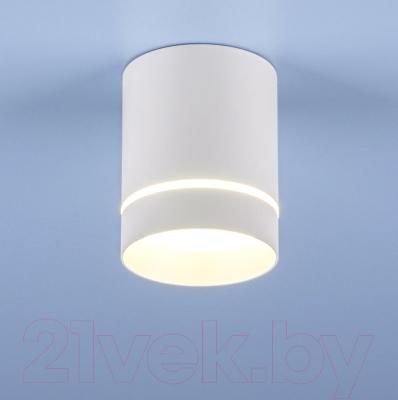 Точечный светильник Elektrostandard DLR021 9W 4200K (белый матовый)