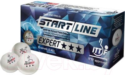 Мячи для настольного тенниса Start Line Expert 3 / ITTF 8334