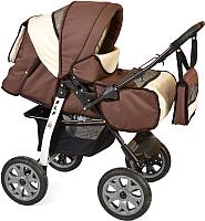 Детская универсальная коляска Smile Line Alf I (Al 02, коричневый/светло-бежевый) -