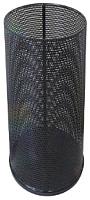 Корзина для бумаг Титан Мета 250 (перфорированный черный) -