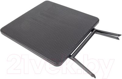 Стол складной GoGarden Split / 50368 (черный)