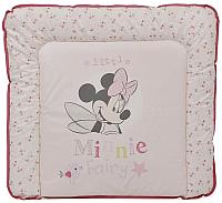 Пеленальный матрас Polini Kids Disney Baby. Минни Маус Фея (розовый) -