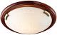 Потолочный светильник Sonex Greca Wood 160/K -