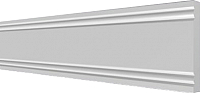 Молдинг Decor-Dizayn 150 А (80x12x2000) -