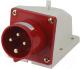 Вилка силовая TDM SQ0605-0012 -