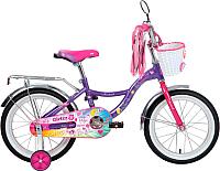 Детский велосипед Novatrack Little Girlzz 167GIRLZZ.VL9 -