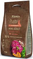 Корм для собак Fitmin Purity Mini Adult Beef (4кг) -