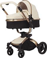 Детская универсальная коляска Rant Nest 2 в 1 / RA889 (кремовый) -
