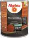 Защитно-декоративный состав Alpina Лессировка (2.5л, махагон) -