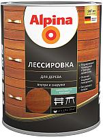 Защитно-декоративный состав Alpina Лессировка (2.5л, рябина) -