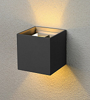 Бра уличное Elektrostandard 1548 Techno LED Winner (черный) -