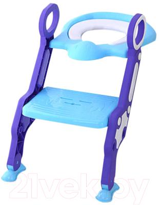 Детская накладка на унитаз Pituso 16018B (голубой)