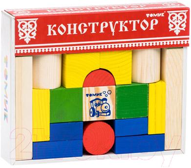 Конструктор Томик Цветной / 6678-26