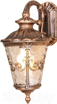 Светильник уличный Elektrostandard Diadema D GLYF-8046D (черное золото)