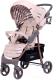 Детская прогулочная коляска Rant Kira Trends / RA055 (Lines Beige) -