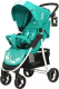 Детская прогулочная коляска Rant Kira Mobile / RA055 (аквамарин) -
