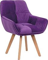 Кресло мягкое Седия Soft (фиолетовый) -