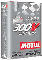 Моторное масло Motul 300V High RPM 0W20 / 104239 (2л) -