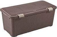 Корзина Curver Rattan Style 00712-210-00 / 210280 (72л, коричневый) -