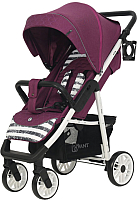 Детская прогулочная коляска Rant Vega Trends / RA057 (Lines Purple) -