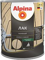 Лак Alpina Палубный (750мл, шелковисто-матовый) -