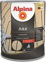 Лак Alpina Палубный (750мл, глянцевый) -