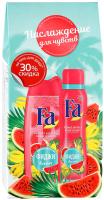 Набор косметики для тела Fa Ритмы Острова Фиджи дезодорант 150мл+крем-гель для душа 250мл -