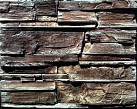 Декоративный камень Baastone Вайсхорн коричневый 103 (490x95x10-25) -