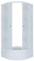 Душевой уголок Triton Риф 90x90 В (грейс/белый) -