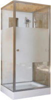 Душевая кабина RGW 13130688-91 OLB-206 (AN) (80x80, хром/матовое стекло) -
