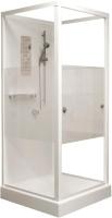 Душевая кабина RGW 13130688-95 OLB-206 (AN) (80x80, белый/матовое стекло) -